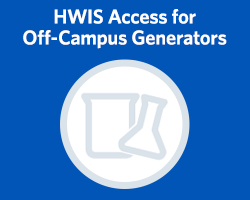 Off campus Hazardous Waste Inventory System access
